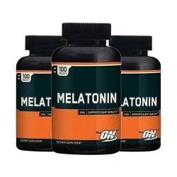 Kit 3 Potes Melatonina Optimun Nutrition 3Mg