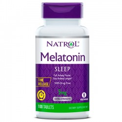 Melatonina Time Release 5mg – 100 Tabletes – Natrol