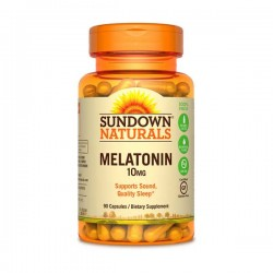 Melatonina 10mg 90Caps - Sundown Naturals