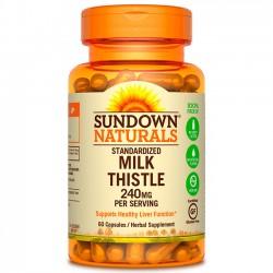 Milk Thistle 240mg (60caps) - Sundown Naturals