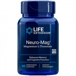 Neuro-Mag Magnesium L-Threonate (90 cápsulas) - Life Extension