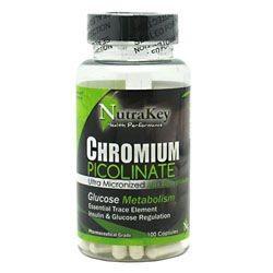 Chromium Picolinate - Nutrakey - 100 Cápsulas