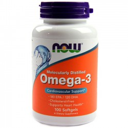 Omega-3 (100 softgels) - Now Foods