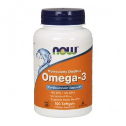 Omega-3 - 100Caps - Now Sports