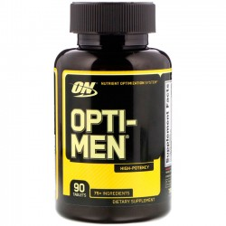 Opti-Men Optimum Nutrition 90 tabletes