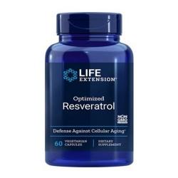 Optimized Resveratrol (60 cápsulas) - Life Extension