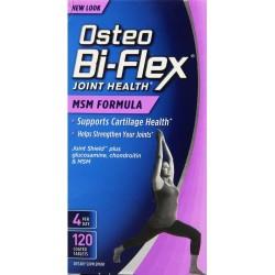 Osteo Bi-Flex Joint Health MSM Formula - 120Tabs