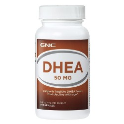 DHEA 50mg 90 Capsulas-GNC