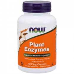Plant Enzymes (120 cápsulas) - Now Foods