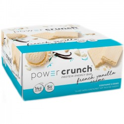 Power Crunch Bar (Caixa c/ 12und) - BNRG
