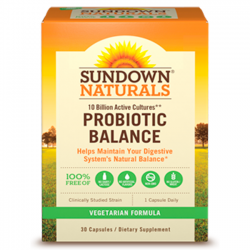 Probiotic Balance (30 caps) - Sundown Naturals