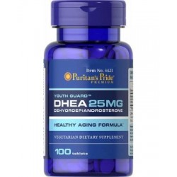 DHEA 25mg 100 tabletes - Puritan's Pride