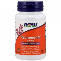 Pycnogenol 30mg (30 cápsulas) - Now Foods