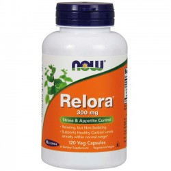 Relora 300mg (120 cápsulas) - Now Foods