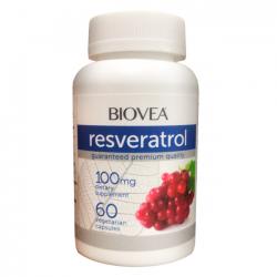Resveratrol 100mg (60 caps) - Biovea