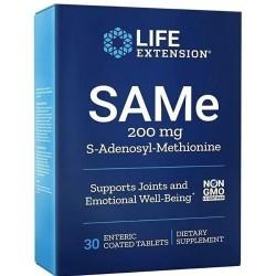 SAMe 200mg (30 tabletes) - Life Extension