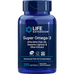 Super Omega-3 EPA/DHA (120 softgels) - Life Extension