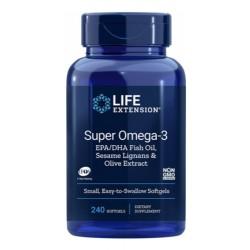 Super Omega-3 EPA/DHA (240 softgels) - Life Extension