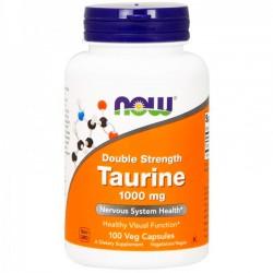 Taurine 1000mg (100caps) - Now Foods