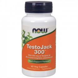 TestoJack 300 (60 cápsulas) - Now Foods