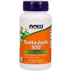 TestoJack 100 (60 cápsulas) - Now Foods