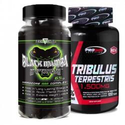 Combo: Tribulus Terrestris 1,500mg - Pro Size + Black Mamba - Innovative