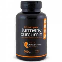 Turmeric Curcumin (120 softgels) - Sports Research