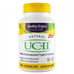 UC II 40mg (60 caps) - Healthy Origins
