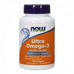 Ultra Omega-3 - 90Caps - Now Sports