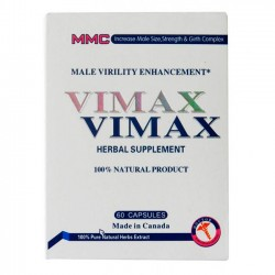 Vimax (60 cápsulas) - Herbal Supplement