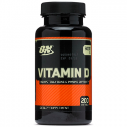 Vitamin D - 200 Caps - Optimum Nutrition