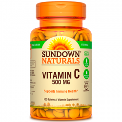 Vitamina C 500mg (100 tabs) - Sundown Naturals