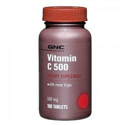Vitamina C 500mg 100 tabletes - GNC