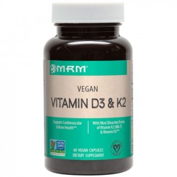 Vitamina D3 + K2 (60 cápsulas) - MRM