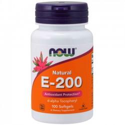 Vitamina E-200 (100 softgels) - Now Foods