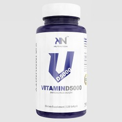 Vitamina D5000 - 120 Caps - KN Nutrition