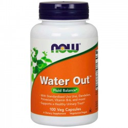 Water Out (100 cápsulas) - Now Foods