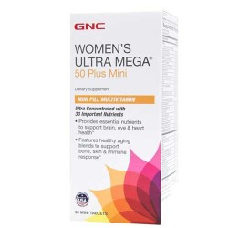 Women's Ultra Mega 50 Plus Mini - 90 Tabs - GNC