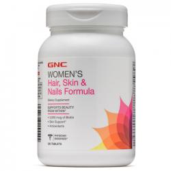 Women's Hair, Skin & Nails Formula (120 tabs) - GNC