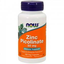 Zinc Picolinate 50mg (120 cápsulas) - Now Foods