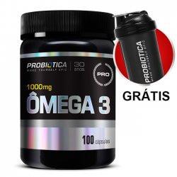 Ômega 3 1000mg - 100Caps - Probiótica