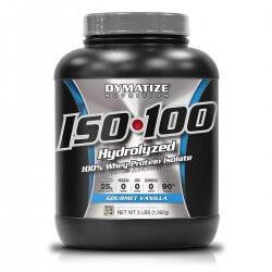 Iso 100 Whey Protein 1362g Dymatize - Baunilha