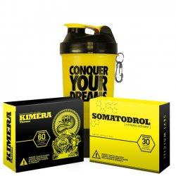 Combo: Somatodrol + Kimera + Coqueteleira