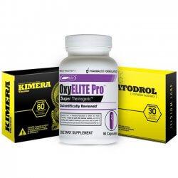 Combo: Somatodrol + Kimera + Oxyelite Pro USP Labs 90 caps