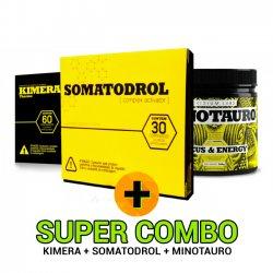 Combo: Somatodrol + Kimera + Minotauro - Iridium Labs