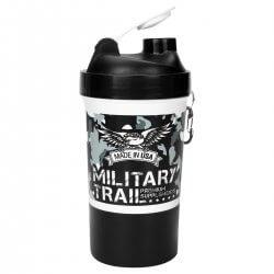 Coqueteleira Military Trail Top Camuflado Noite - 500ml - Midway