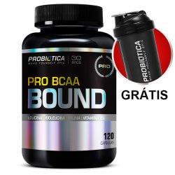 Pro BCAA Bound - 120Caps - Probiótica