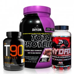 Combo: Total Protein + T90 Tribulus + Hydra