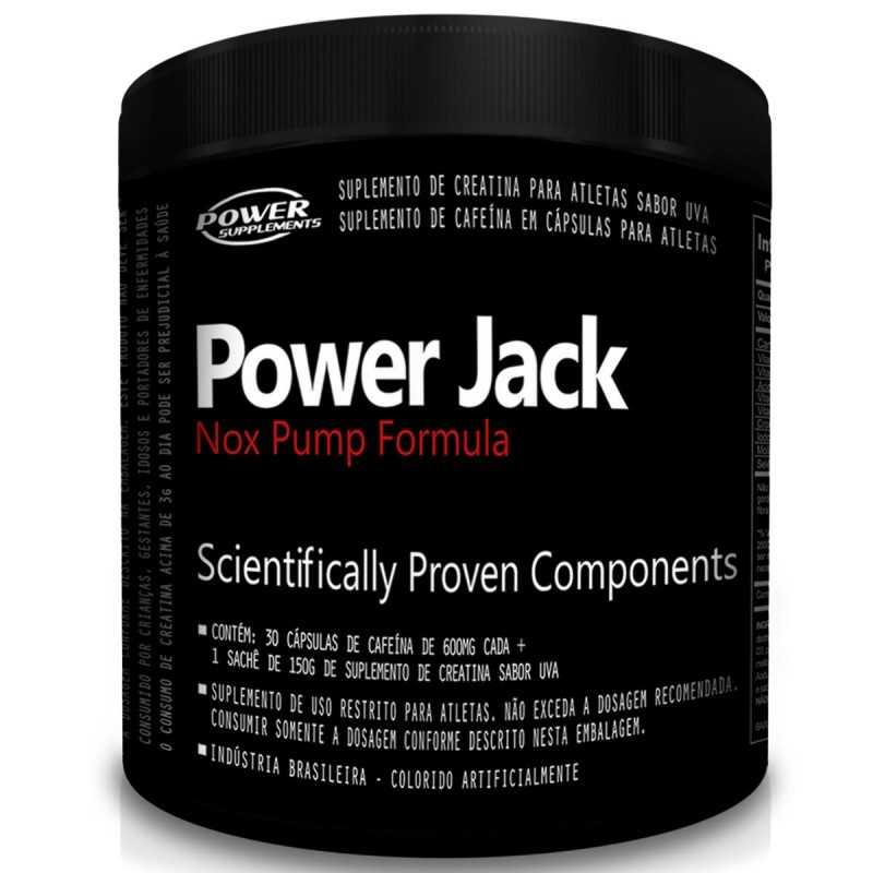 Power Jack Nox Pump Formula 30 Doses - Power Supplements