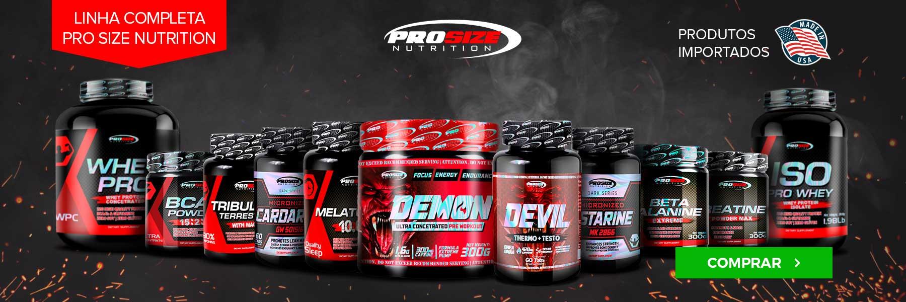 Linha Pro Size Nutrition